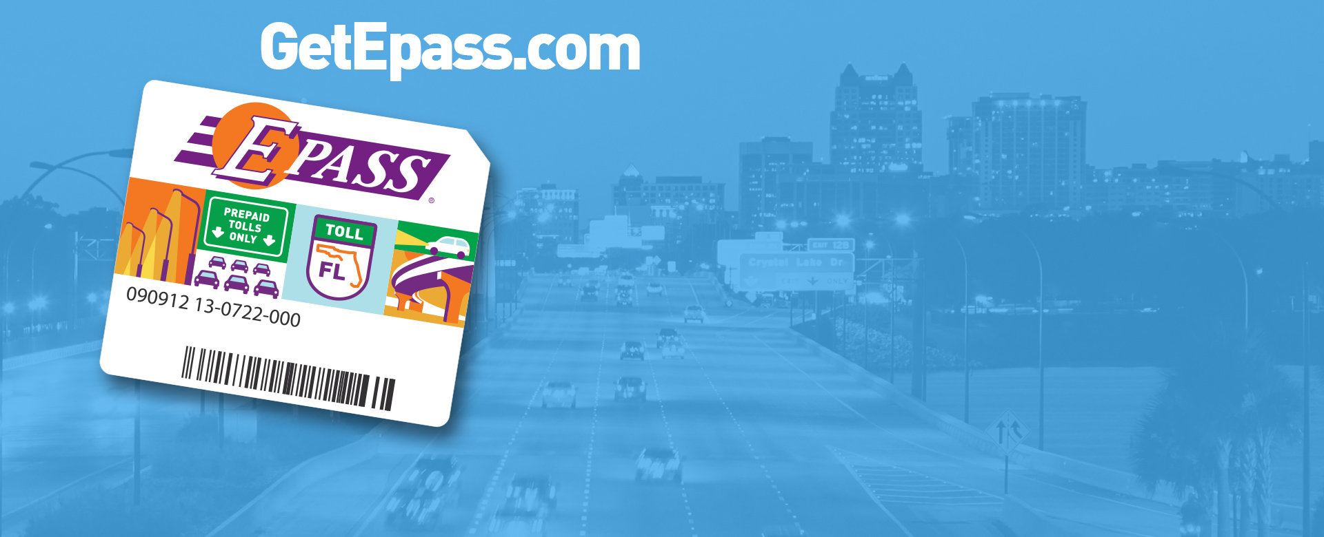 Toll Discounts Only with E-PASS
